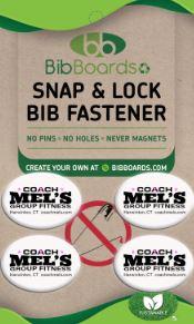 Snap & Lock bib fastener