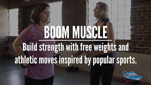 SilverSneakers BOOM MUSCLE exerclse class