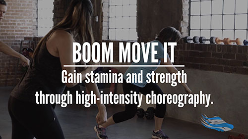 BOOM MOVE IT group fitness for seniors