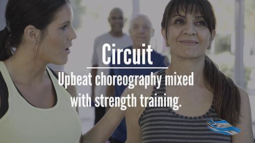 Circuit group fitness for seniors