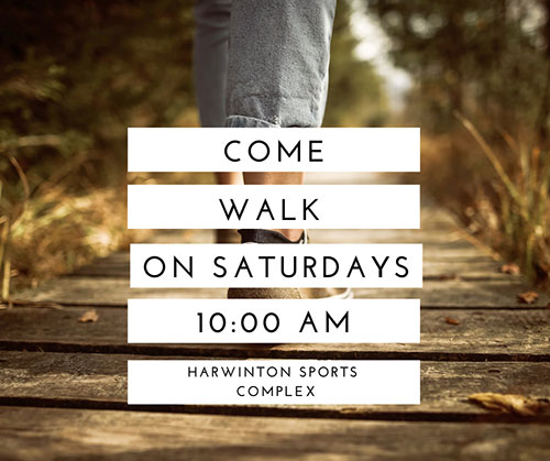 Come Walk on Saturdays banner