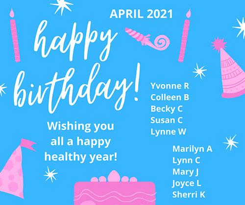 April birthday wishes