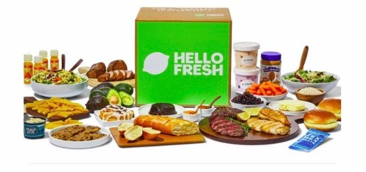 Meal Planning with Hello Fresh foods