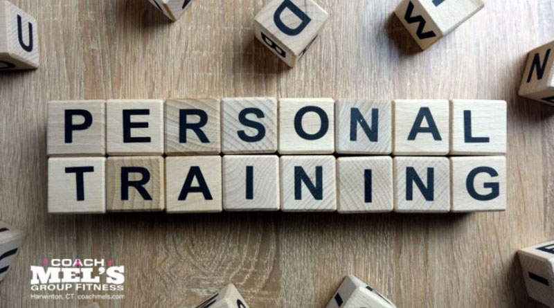 Personal Training spelled out with Scrabble letters